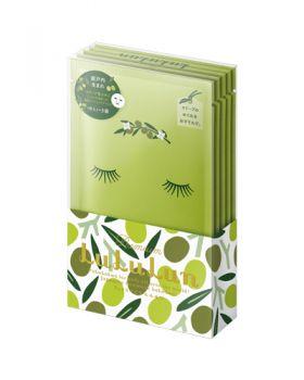 Premium Lululun Sheet Mask, Shodo Island OLIVE 1 sheet pack x 5 pcs